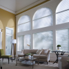 Hunter Douglas Arch Top Nantucket Shades