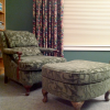 Cogswell Chair Reupholstered