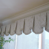 Scalloped Valance with Bells